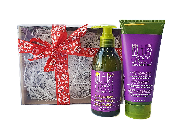 Купить LITTLE GREEN Набор для облегчения расчесывания и распутывания волос, для детей от 12 месяцев / KIDS