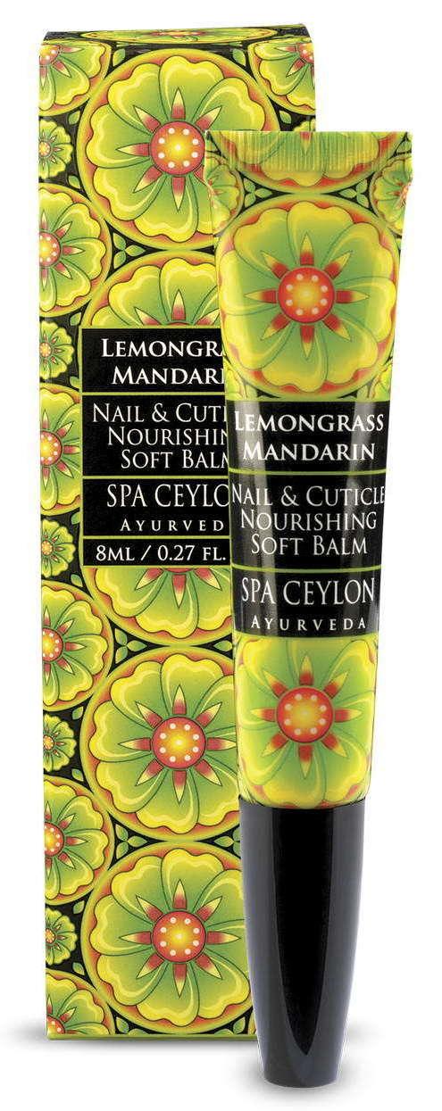 SPA CEYLON Бальзам смягчающий для ногтей и кутикулы Лемонграсс и мандарин 8 мл