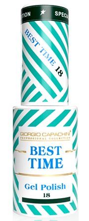 GIORGIO CAPACHINI 18 гель-лак трехфазный для ногтей / BEST TIME 8 мл.