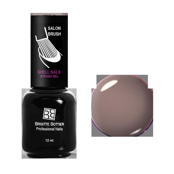 BRIGITTE BOTTIER 965 гель-лак для ногтей, молочный шоколад / Shell Nails 12 мл