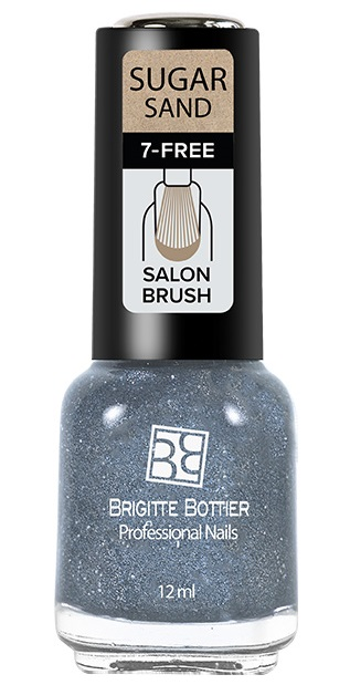 Купить BRIGITTE BOTTIER 305 лак для ногтей фактурный, искрящийся лавандовый / SUGAR SAND 12 мл, Фиолетовые