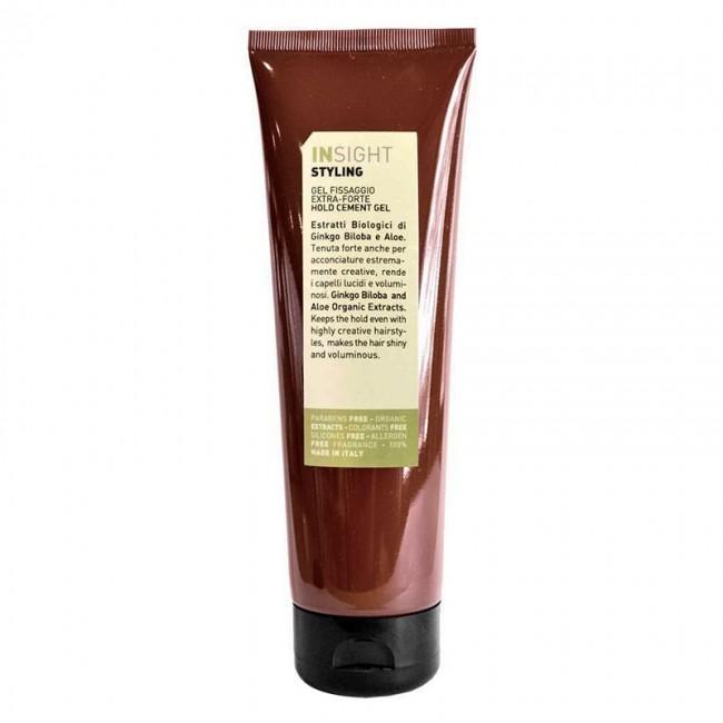 INSIGHT Гель экстрасильной фиксации для волос / STYLING HOLD CEMENT GEL 250 мл - Гели