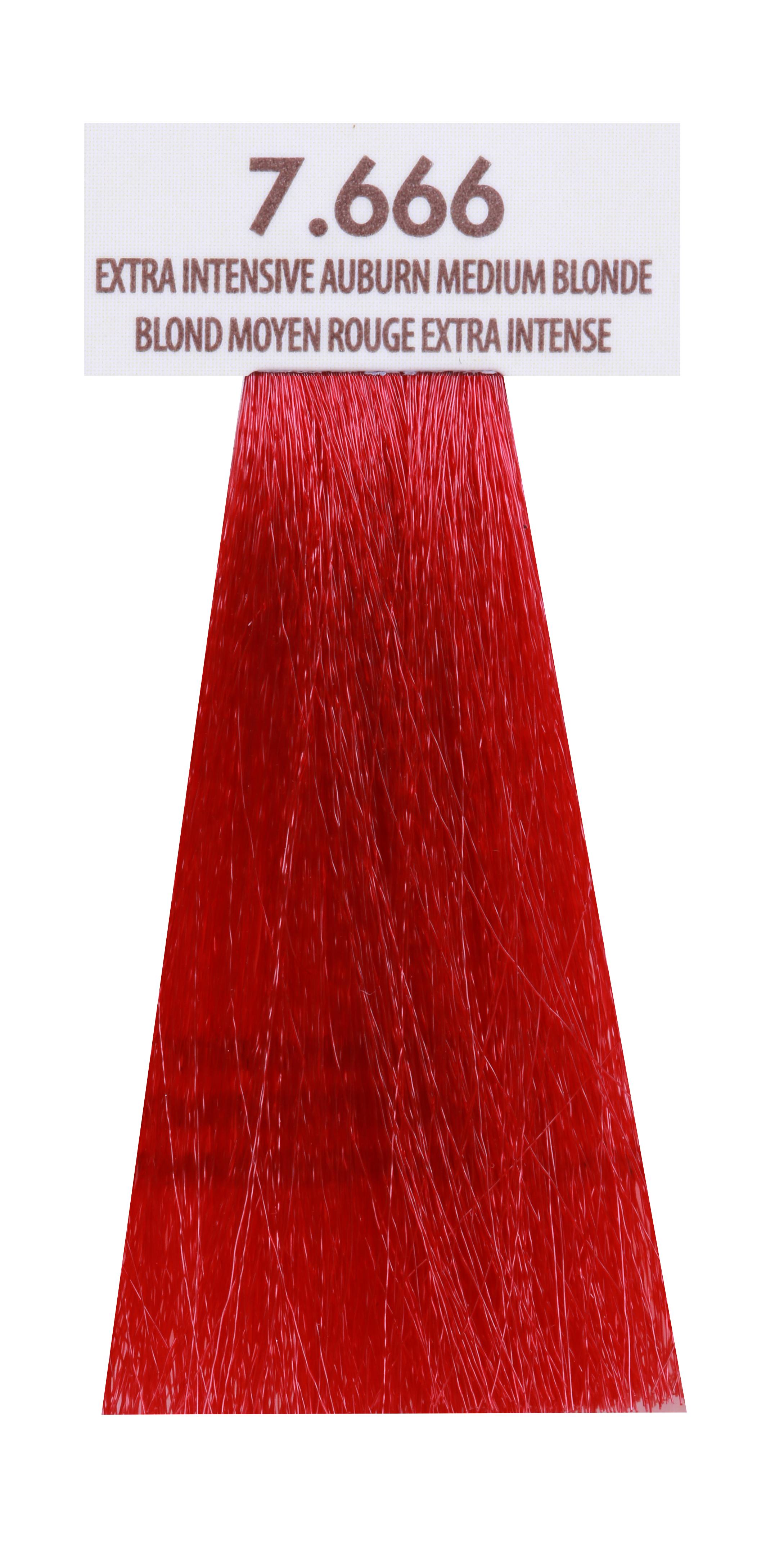 MACADAMIA NATURAL OIL 7.666 краска для волос, экстра яркий темно красный блондин / MACADAMIA COLORS 100 мл
