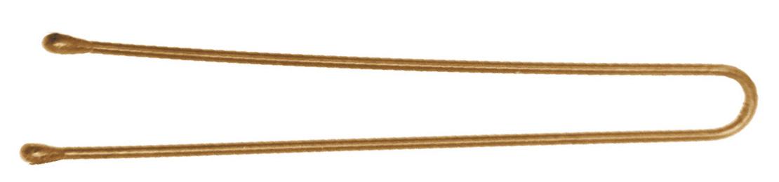 DEWAL PROFESSIONAL Шпильки золотистые, прямые 60 мм, 200 г (в коробке)