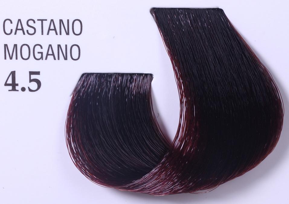 BAREX 4.5 краска для волос / JOC COLOR 100млКраски<br>Оттенок: Каштановый махагоновый. Стойкая перманентная крем-краска для волос на основе растительных экстрактов обеспечивает глубокое стойкое окрашивание и 100% окрашивание седых волос. Защищает структуру волоса по всей длине, придает волосам блеск и шелковистость, защищает от воздействия солнечных лучей. Кремообразная консистенция краски удобна в работе и хорошо распределяется по всей длине волос. Тюбик содержит 100 мл краски, рассчитанный на 2 процедуры окрашивания волос средней длины или на 4 процедуры тонирования&amp;nbsp; Способ применения:&amp;nbsp;Для полного окрашивания смешайте 50 мл (половину упаковки) крема краски Joc Color&amp;nbsp;с 75 мл соответствующего оксигента JOC Color Line. В результате&amp;nbsp; получится 125 мл продукта, способного полностью окрасить значительное количество волос. Оксигент JOC Color Line содержит особые вещества растительного происхождения, активизирующиеся в момент нанесения смеси, эти вещества способствуют глубокому восстановлению структуры волос, обеспечивая однородный, сияющий цвет. Примечание:&amp;nbsp;специальная формула крема краски JOC Color Line позволяет использовать его в разбавленном 1:1 виде, т.е. крем краска и окисляющая эмульсия смешиваются в равных пропорциях. Это усиливает мощность покрытия седых волос, делает более интенсивным выбранный нюанс, придавая волосу блеск. Выбор оксигента и время выдержки. Оксигент Окончательный результат Время воздействия &amp;nbsp;&amp;nbsp;Оксигент с эффектом блеска 3% для окрашивания ТОН в ТОН 20-25 мин &amp;nbsp;&amp;nbsp;Оксигент с эффектом блеска 6% для обесцвеченных волос для окрашивания и осветления на 1 тон 15-25 мин 35-40 мин &amp;nbsp;Оксигент с эффектом блеска 9%&amp;nbsp;&amp;nbsp; для окрашивания и осветления на 2 - 2,5 тона для выделения нюанса для работы с серией  Платина&amp;nbsp; 35-40 мин 35-40 мин 35-40 мин Оксигент с эффектом блеска 12% для осветления на 3 тона и выше для работы с Суперосветляющей серией для ра