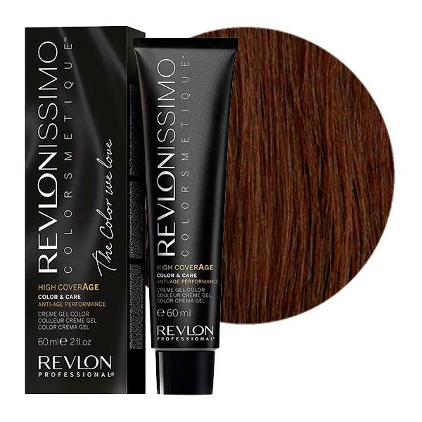 REVLON Professional 5-13 краска для волос, бежевый светлый блондин / RP REVLONISSIMO COLORSMETIQUE High Coverage 60 мл краски для волос revlon professional краска для волос rp revlonissimo colorsmetique 5sn светло коричневый супернатуральный
