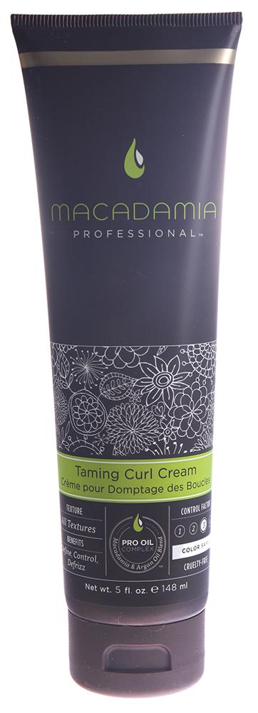 MACADAMIA PROFESSIONAL Крем смягчающий для кудрей / Taming Curl Cream 148млКремы<br>Создает объемные, разделенные, мягкие на ощупь волны и кудри. Контролирует непослушные кудри, не делая их жесткими. Борется с влажностью, контролирует пушистость - для безупречного, законченного образа. Сохраняет цвет окрашенных волос, не содержит агрессивных компонентов. Способ применения: нанесите небольшое количество на влажные волосы. Высушите естественным путем или с помощью диффузора. Можно наносить на сухие волосы в течение дня для дополнительного контроля.<br>