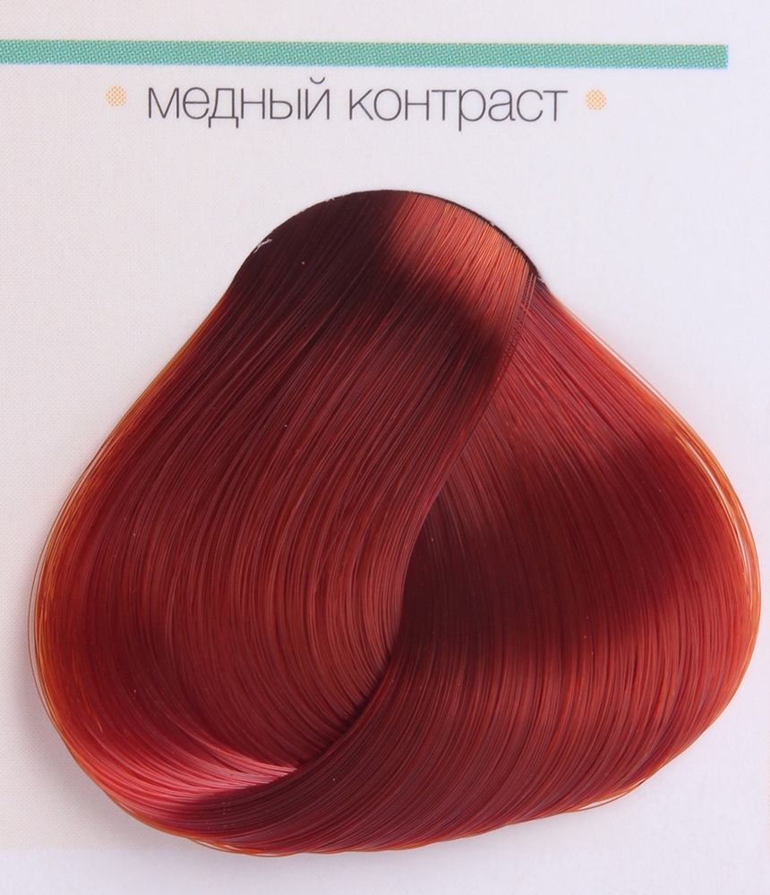 KAARAL Краска для волос контраст медный / AAA 60мл