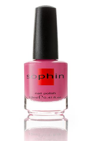 SOPHIN Лак для ногтей, малиново-розовый 12мл