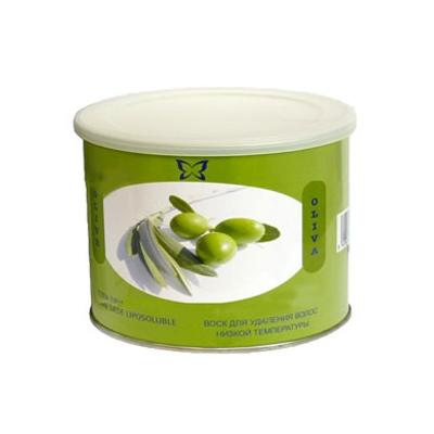 BEAUTY IMAGE Баночка с воском С маслом оливы 400грВоски<br>Низкотемпературный воск с экстрактом масла оливы подходит для коротких и жестких волос. Воски Beauty Image изготавливают на основе смол растительного происхождения, которые подходят даже для самой чувствительной кожи, входящие в состав активные компоненты оказывают смягчающий, успокаивающий и питательный уход. При нанесении на кожу воск быстро остывает до температуры тела, наносится по росту волос и удаляется при помощи специальной бумаги, для наилучшего эффекта рекомендуется использование средств до и после эпиляции.  Применение: 1. Очистите кожу тоником с помощью ватного диска, высушите салфетками. 2. Вставьте кассету с воском в аппликатор-нагреватель и включите его в сеть. 3. Нагревайте в течение 15-20 минут при температуре 45-50 градусов. 4. Отключить нагреватель от сети! 5. Нанесите воск на кожу по направлению волос, не вынимая кассету из нагревателя. 6. Наложите бумагу для снятия воска на зону эпиляции, оставляя примерно 1 см для захвата бумаги рукой. 7. Зафиксируйте кожу рядом с зоной эпиляции рукой, удалите бумагу резким движением руки против роста волос. Один лист бумаги может использоваться несколько раз. 8. Остатки воска и липкость удаляются при помощи цветочного масла, либо салфеток пропитанных цветочным маслом. 9. После процедуры рекомендуется использовать средства после эпиляции для снятия раздражения, для увлажнения и питания кожи, а так же средства задерживающие рост волос.<br><br>Объем: 400