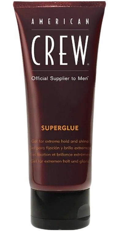 AMERICAN CREW Гель для волос ультра сильной фиксации, для мужчин / SUPERGLUE 100 мл