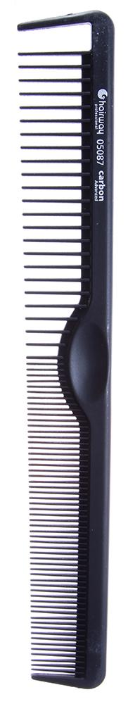 HAIRWAY Расческа Carbon Advance комбинированная 210ммРасчески<br>Cверхпрочный материал. Зубчики не деформируются при иcпользoвании. Антистатик. Гипоаллергенная. Расческа комбинированная.<br>