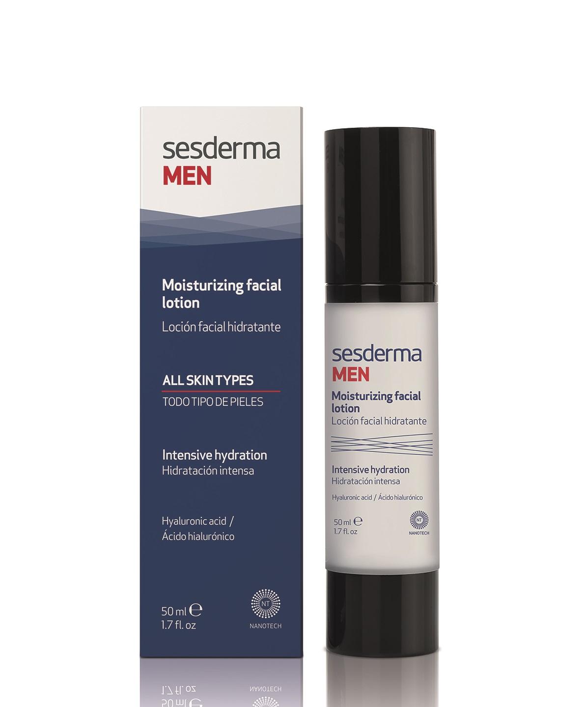 Купить SESDERMA Лосьон увлажняющий мужской для лица / MEN Moisturizing facial lotion 50 мл