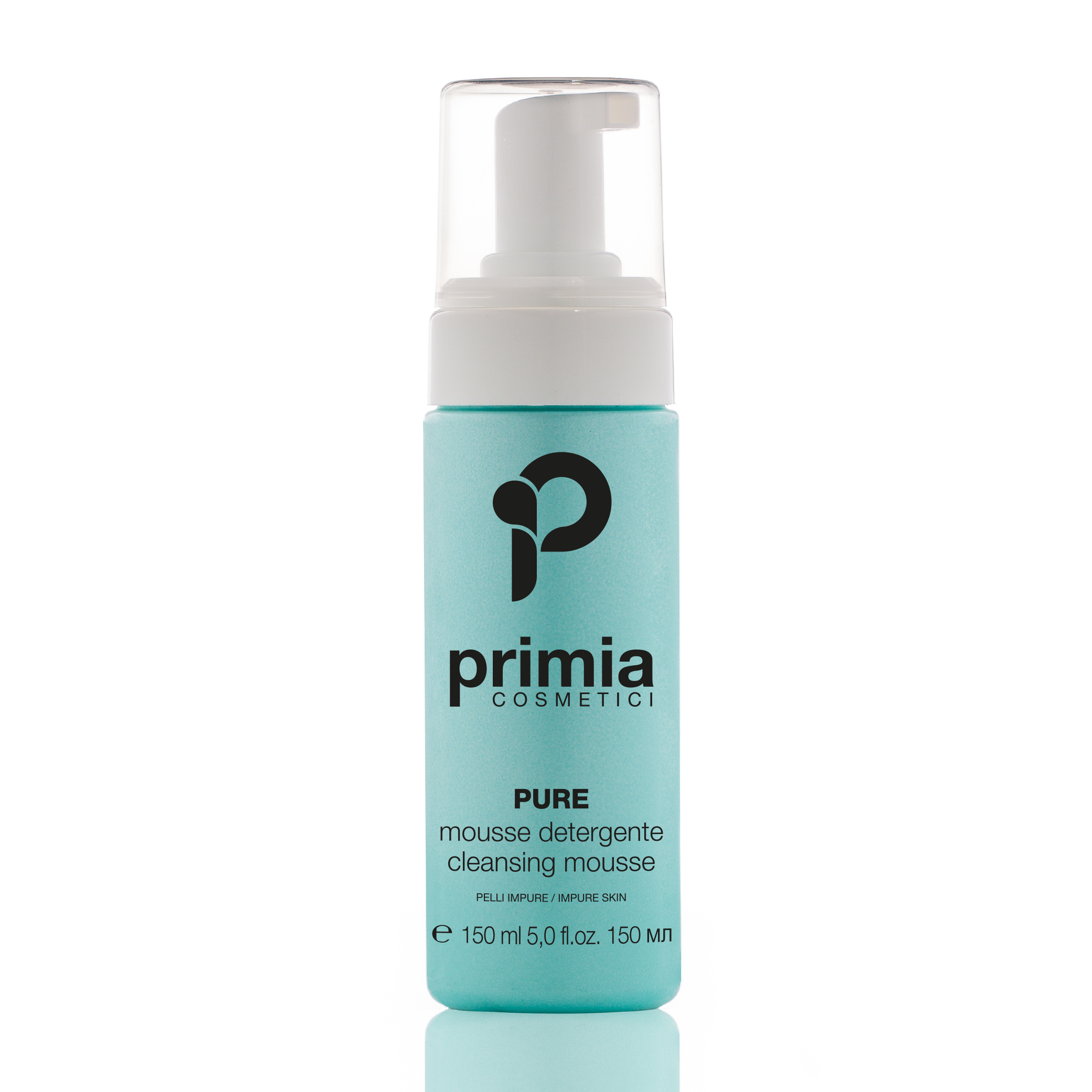 PRIMIA COSMETICI Мусс очищающий для жирной и комбинированной кожи / Pure cleansing mousse 150 мл - Муссы