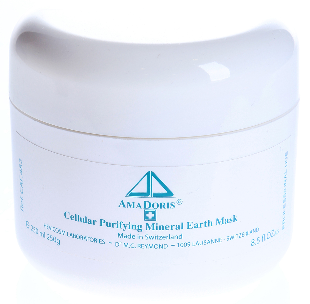 AMADORIS Маска клеточная лечебно-грязевая для всех типов кожи 250млМаски<br>Кремовая субстанция шоколадного цвета с характерным запахом камфорного масла. Маска подходит для любого типа кожи, не имеет возрастных ограничений. Маска превосходно отшелушивает, глубоко очищает, оказывает дезинфицирующее и противовоспалительное действие, удаляет излишки кожного сала, обеспечивает профилактику угревой сыпи, питает, тонизирует, оказывает легкий лифтинговый эффект. Основные цели применения: глубокое очищение и эксфолиация; устранение гиперчувствительности, снятие воспаления; уменьшение выделения кожного сала; нормализация кровообращения; предупреждение образования пост-акне; увлажнение и регенерация кожи; повышение упругости и тонуса кожи; нормализация цвета кожи.&amp;nbsp; Активные ингредиенты: Каприлил гликоль, Железистая грязь, Пресноводный ил, Гликопротеины, Камфорное эфирное масло, Рисовый крахмал. Способ применения: Нанесите маску на очищенную кожу лица, шеи и декольте, через 15-20 минут снимите маску влажными спонжами или полотенцем, промокните кожу салфеткой и протрите тоником.<br><br>Назначение: Акне, постакне