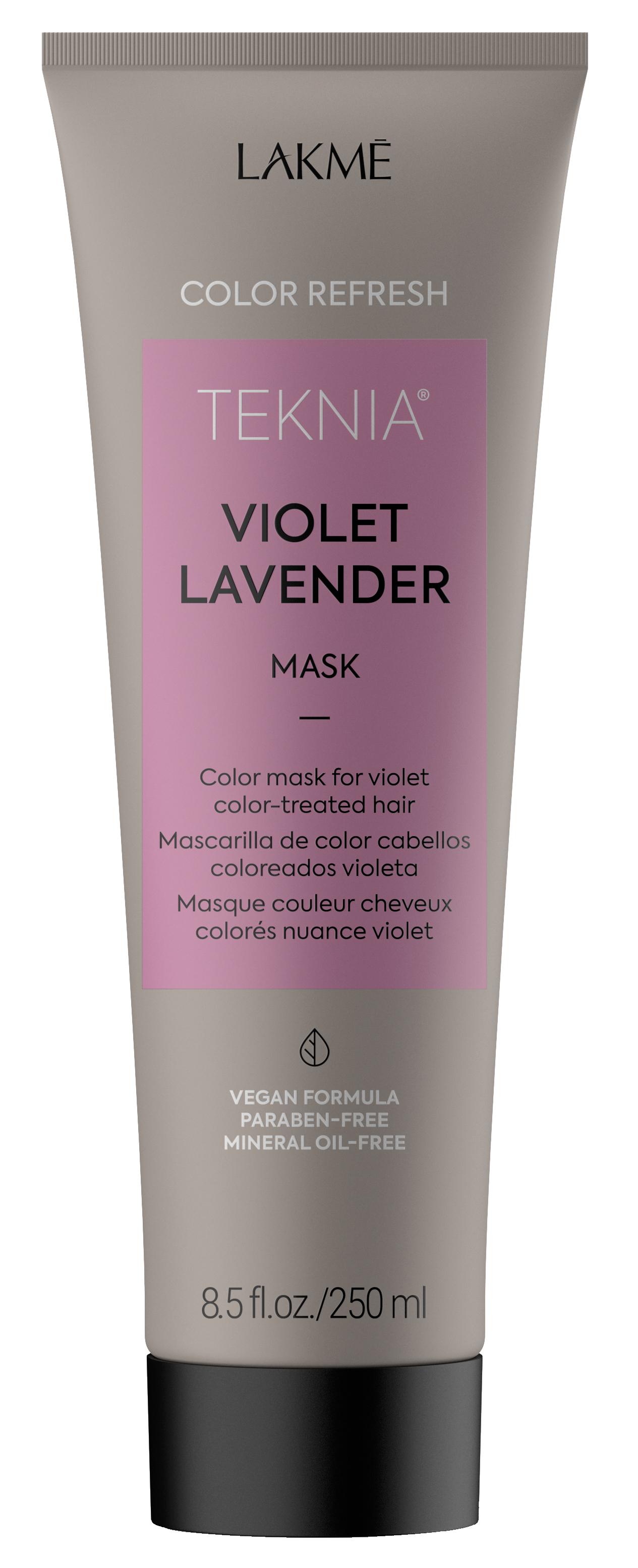 Купить LAKME Маска для обновления цвета фиолетовых оттенков волос / REFRESH VIOLET LAVENDER MASK 250 мл