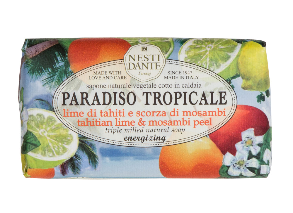 Купить NESTI DANTE Мыло Лайм и мангустин / Lime di Tahiti & Scorza di Mosambi 250 г