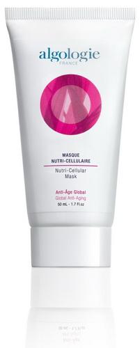 ALGOLOGIE Маска клеточная питательная 200млМаски<br>Для лица и шеи. Активный препарат для всех типов кожи, для коррекции и профилактики возрастных изменений. Рекомендуется для зрелой кожи (возрастная группа после 50 лет). Действие: Ламинария оказывает стимулирующее действие на процессы регенерации, защищает стволовые клетки кожи, стимулирует процессы синтеза коллагена. Морской критмум является источником растительных стволовых клеток, стимулирует процессы регенерации и репарации, оказывает выраженное антиоксидантное действие, способствует уменьшению пигментных пятен, улучшая цвет лица. Экстракт красной водоросли хондрус криспус содержит высокую концентрацию полисахаридов, оказывает выраженное увлажняющее действие, подтягивает и укрепляет кожу. Дарит ощущение свежести при нанесении на кожу. Результат: Обеспечивает моментальный омолаживающий эффект, интенсивно питает и увлажняет кожу, возвращая ощущение комфорта и сияние молодости, улучшает цвет лица. Активные компоненты маски ускоряют процессы регенерации и репарации, способствуют уменьшению глубины морщин, повышают тонус и тургор кожи.<br>