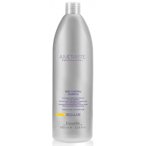 FARMAVITA Шампунь для жирной кожи головы / Amethyste regulate sebo controll shampoo 1000 мл.