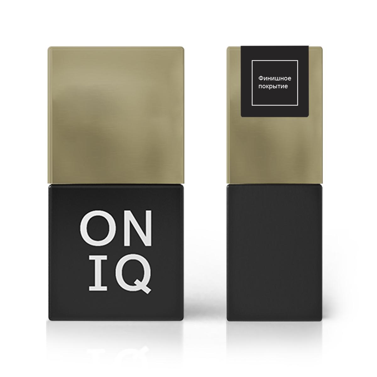 ONIQ Покрытие финишное 10 мл - Особые средства