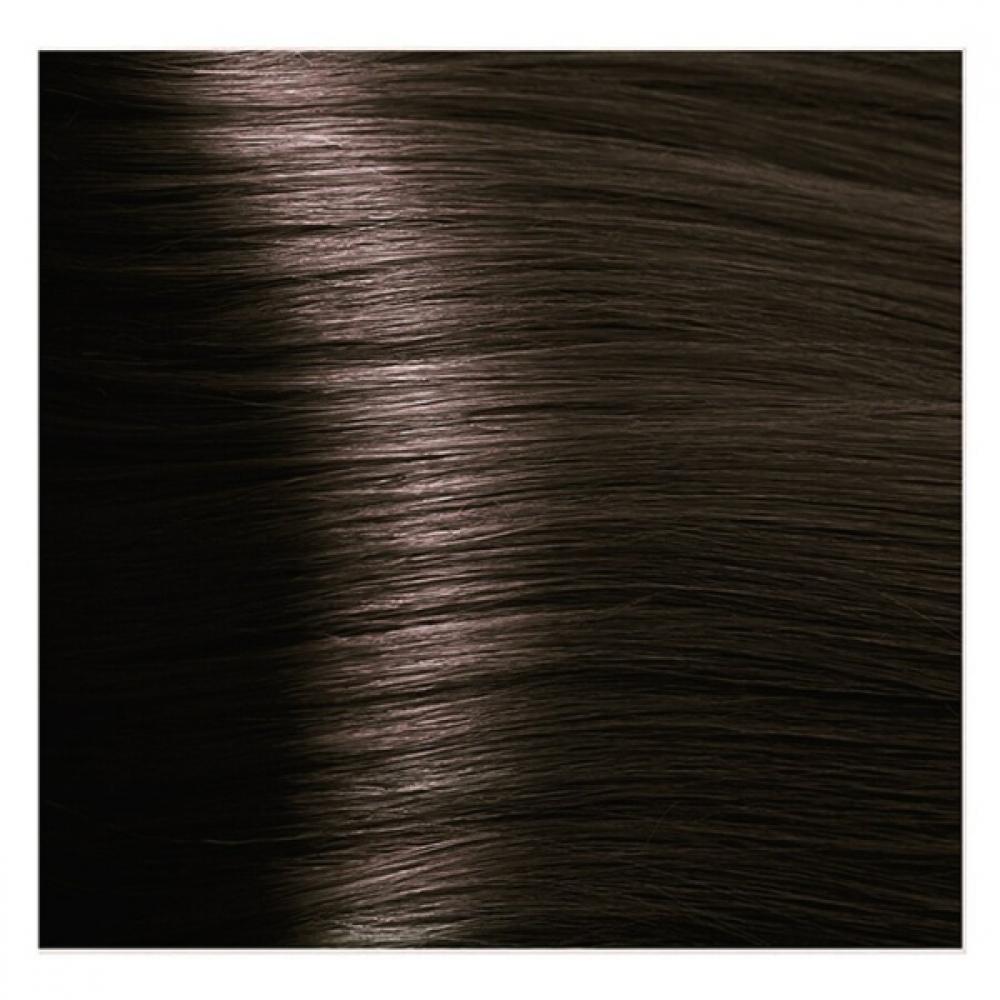 Купить KAPOUS NA 5.3 краска для волос, светлый коричнево-золотистый / Magic Keratin 100 мл