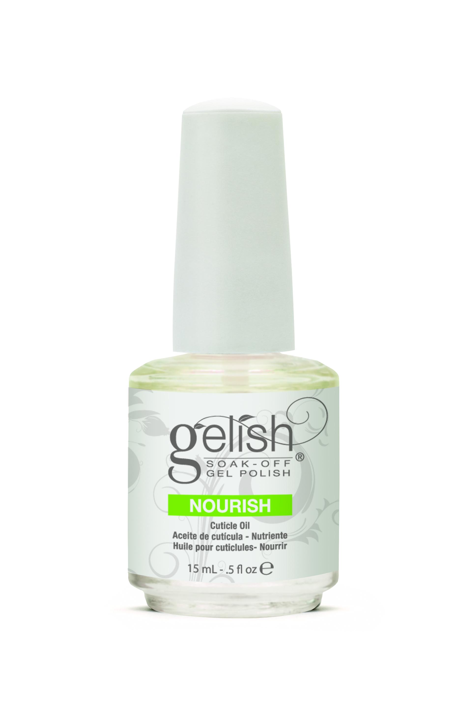 GELISH Масло для ногтей и кутикулы / GELISH Nourishf 15мл
