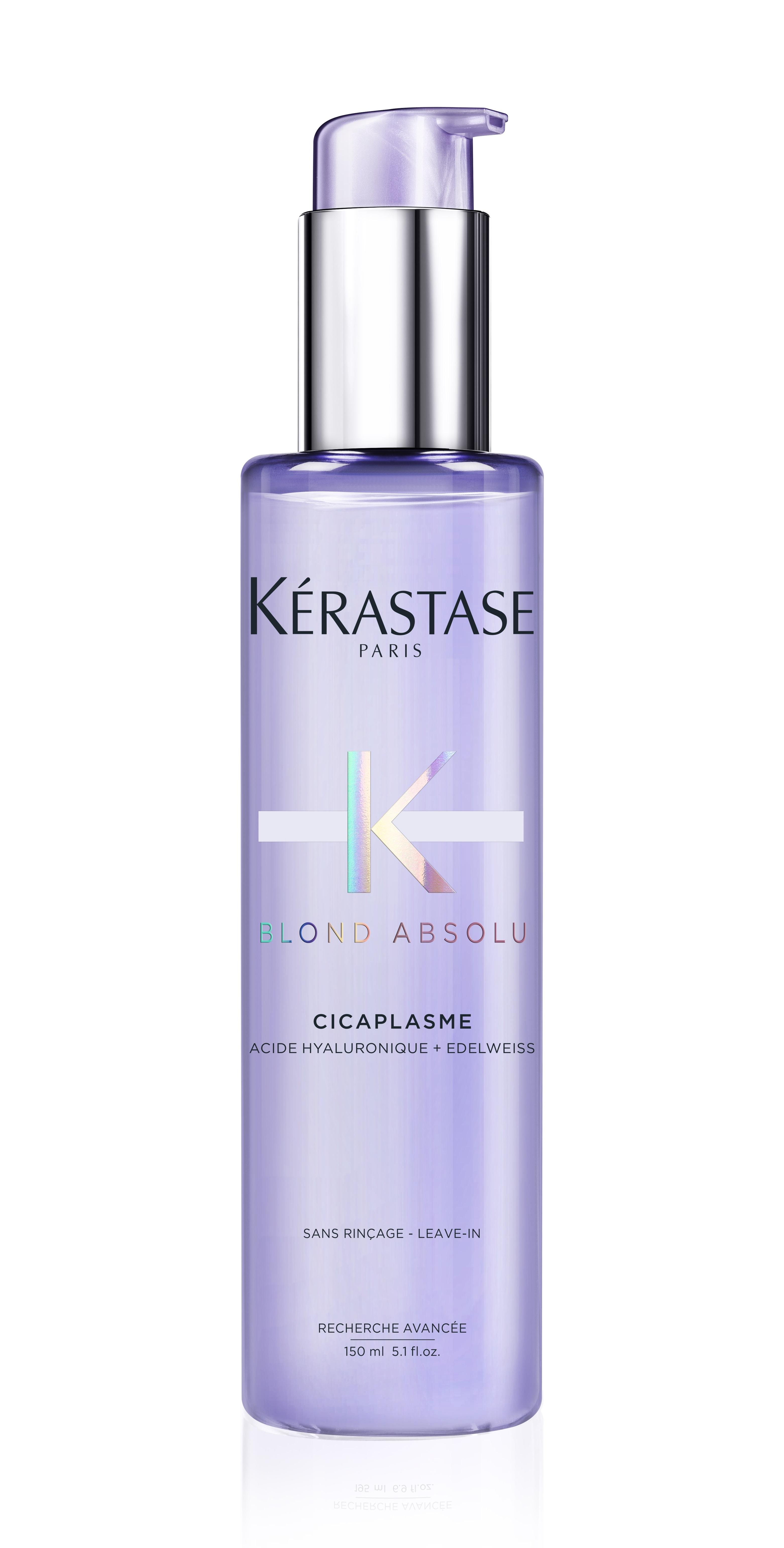 Купить KERASTASE Сыворотка несмываемая для укрепления светлых окрашенных волос с термозащитой Цикаплазм / БЛОНД АБСОЛЮ 150 мл