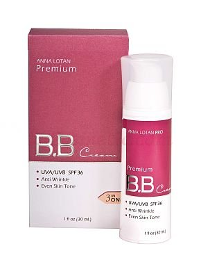 ANNA LOTAN Крем Премиум BB SPF36 / Premium BB Cream Beige MAKEUP 30млКремы<br>Эксклюзивный тонирующий крем с формулой &amp;laquo;3-в-1&amp;raquo;:  интенсивно увлажняет кожу, имеет широкий спектр защиты UVA/UVB излучения, эффективно тонирует дефекты кожи, придавая ей красивый ровный оттенок;  препарат предназначен для дневного ухода за кожей, склонной к сухости;  легкая эмульсия надолго фиксируется на коже ровным тончайшим слоем и не оставляет жирного блеска;  эффективно выравнивает тон и скрывает покраснения, пигментные пятна, веснушки, темные круги под глазами; эксклюзивные масла смягчают и разглаживают кожу, сочетание в препарате аминокислоты пролин и пальмового масла повышает проникающую способность крема и позволяет заполнить морщинки, делая их менее заметными;  витамин Е действует как антиоксидант и поддерживает качество натуральных масел в формуле;  препарат полностью свободен от парабенов. Способ применения: Тщательно нанесите на на лицо, область глаз или там, где требуется коррекция и выравнивание тона. Не использовать на поврежденной коже. Для поддержания защиты от УФО наносить через каждые 3 часа.<br><br>Назначение: Пигментация