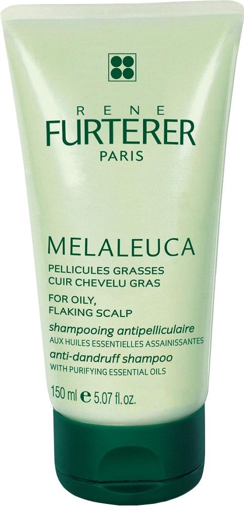 RENE FURTERER Шампунь отшелушивающий для жирной кожи с перхотью / Melaleuca 150мл