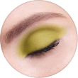 AVANT scene Тени микропигментированные, палитра зелено-красная, оттенок B004