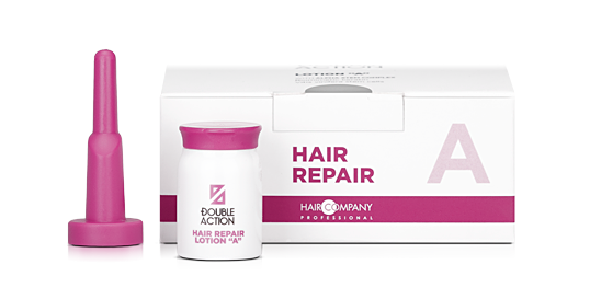 "HAIR COMPANY Лосьон восстанавливающий ""A"" / Double Action HAIR REPAIR LOTION ""A"" 10*10мл"