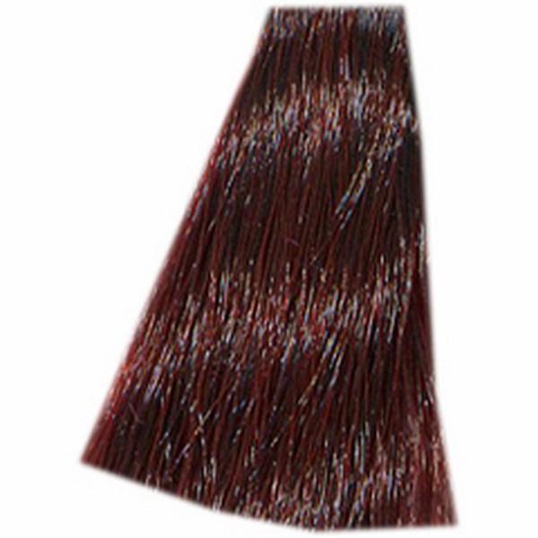 HAIR COMPANY 5.56 краска для волос / HAIR LIGHT CREMA COLORANTE 100млКраски<br>5.56 светло-каштановый красный венецианский 100мл. Hair Light Crema Colorante   профессиональный перманентный краситель для волос, содержащий в своем составе натуральные ингредиенты и в особенности эксклюзивный мультивитаминный восстанавливающий комплекс. Минимальное количество аммиака позволяет максимально бережно относится к структуре волоса во время окрашивания. Содержит в себе растительные экстракты вытяжку из арахиса, лецитин, витамин А и Е, а так же витамин С который является природным консервантом цвета. Применение исключительно активных ингредиентов и пигментов высокого качества гарантируют получение однородного, насыщенного, интенсивного и искрящегося оттенка. Великолепно дает возможность на 100% закрасить даже стекловидную седину. Наличие 6-ти микстонов, а так же нейтрального бесцветного микстона, позволяет достигать получения цветов и оттенков. Способ применения: смешать Hair Light Crema Colorante с Hair Light Emulsione Ossidante в пропорции 1:1,5. Время воздействия 30-45 мин.<br><br>Вид средства для волос: Стойкая<br>Класс косметики: Профессиональная<br>Типы волос: Для всех типов