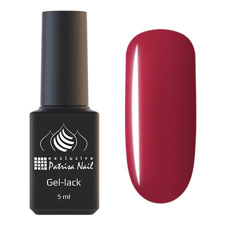Купить PATRISA NAIL 722 гель-лак однофазный для ногтей Московская сага 5 мл, Красные