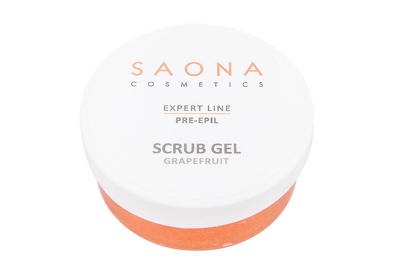 Купить SAONA COSMETICS Скраб очищающий с экстрактом грейпфрута для тела / Expert Line 300 мл