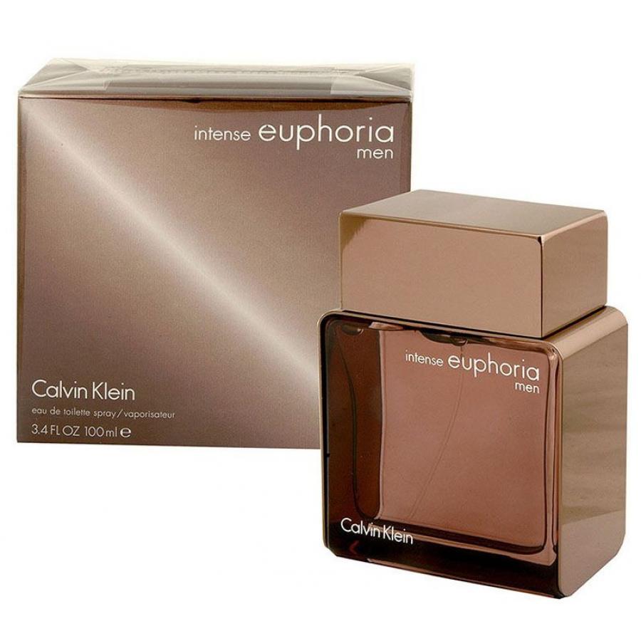 Купить CALVIN KLEIN Вода туалетная мужская Calvin Klein Euphoria Intense, спрей 100 мл