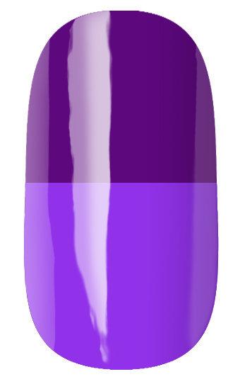 RuNail Гель-лак термо, темно-фиолетовый - фиолетовый / Thermo 7 мл runail дизайн для ногтей ракушки 0284