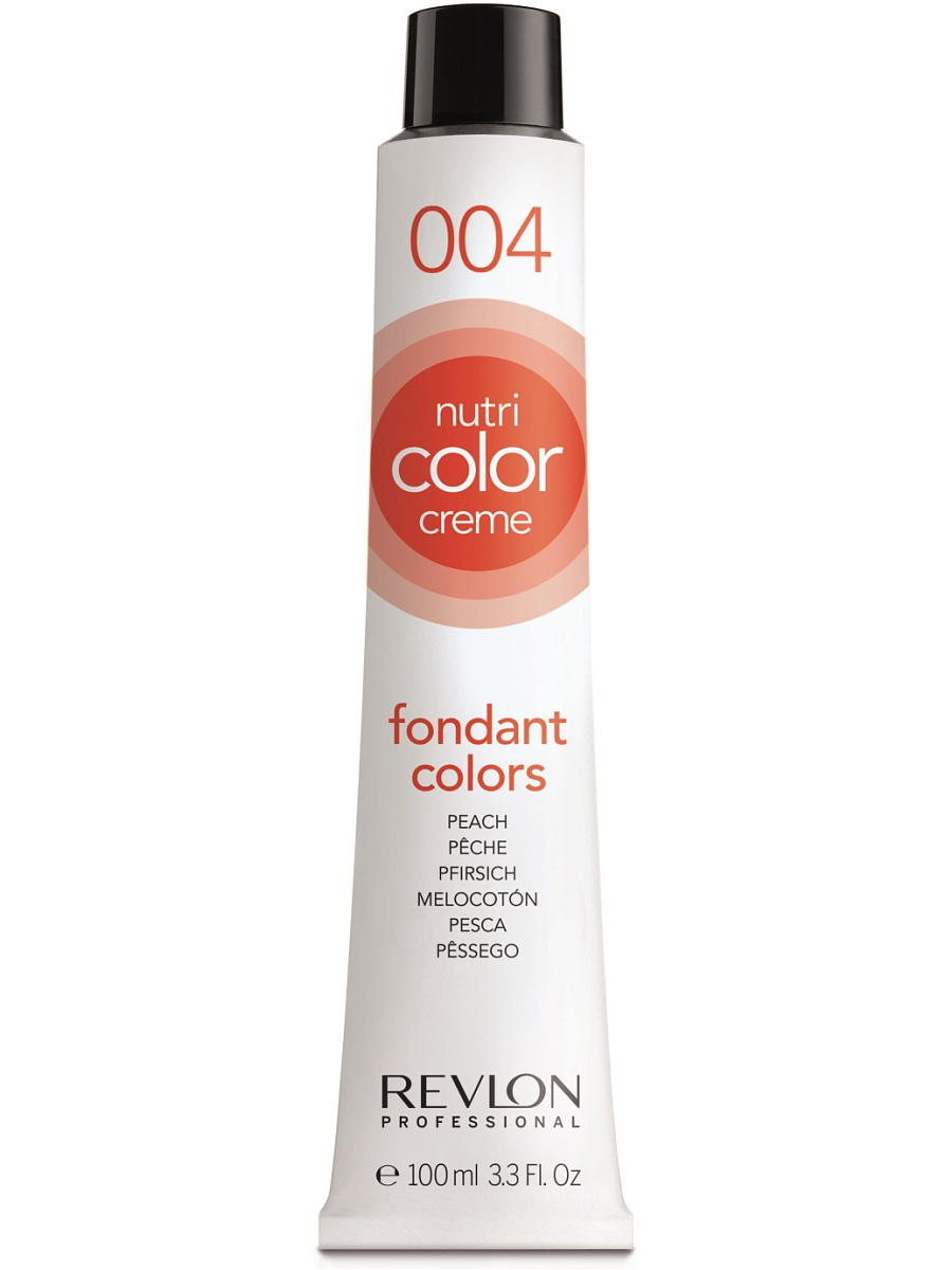 REVLON Professional 004 краска 3 в 1 для волос, персик / NUTRI COLOR CREME 100 мл