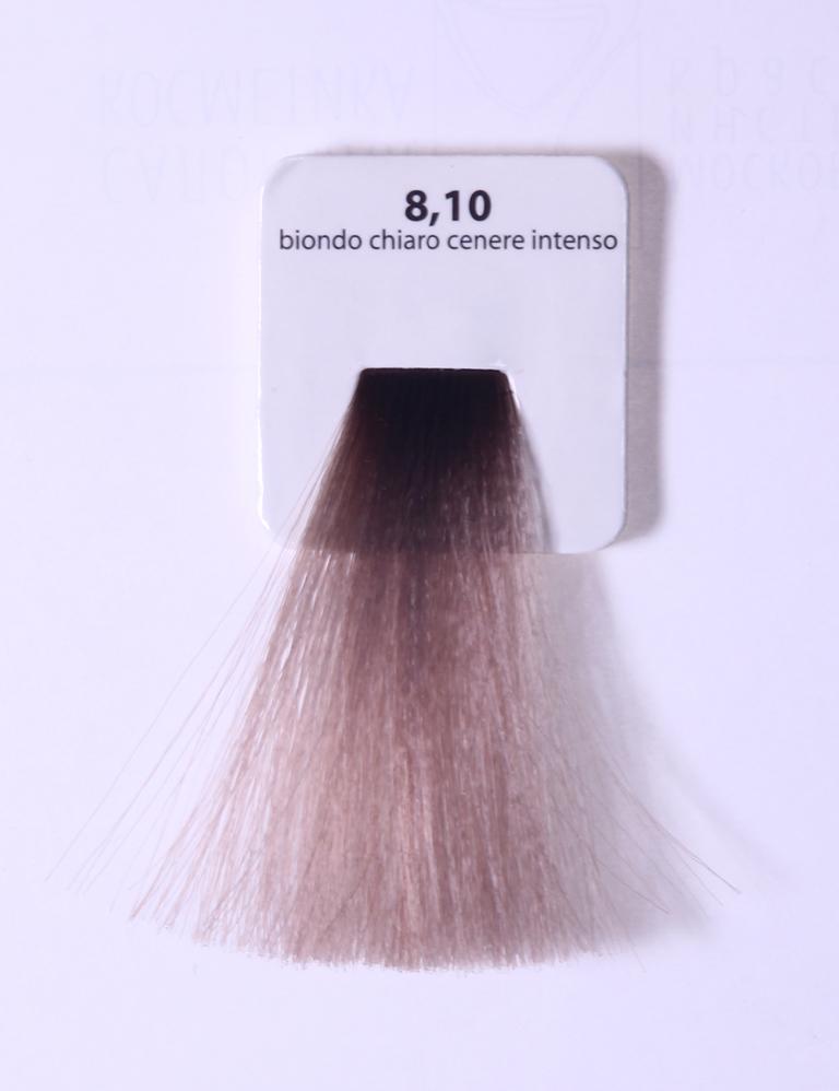 KAARAL 8.10 краска для волос / Sense COLOURS 60млКраски<br>8.10 светлый блондин пепельный глубокий Перманентные красители. Классический перманентный краситель бизнес класса. Обладает высокой покрывающей способностью. Содержит алоэ вера, оказывающее мощное увлажняющее действие, кокосовое масло для дополнительной защиты волос и кожи головы от агрессивного воздействия химических агентов красителя и провитамин В5 для поддержания внутренней структуры волоса. При соблюдении правильной технологии окрашивания гарантировано 100% окрашивание седых волос. Палитра включает 93 классических оттенка. Способ применения: Приготовление: смешивается с окислителем OXI Plus 6, 10, 20, 30 или 40 Vol в пропорции 1:1 (60 г красителя + 60 г окислителя). Суперосветляющие оттенки смешиваются с окислителями OXI Plus 40 Vol в пропорции 1:2. Для тонирования волос краситель используется с окислителем OXI Plus 6Vol в различных пропорциях в зависимости от желаемого результата. Нанесение: провести тест на чувствительность. Для предотвращения окрашивания кожи при работе с темными оттенками перед нанесением красителя обработать краевую линию роста волос защитным кремом Вaco. ПЕРВИЧНОЕ ОКРАШИВАНИЕ Нанести краситель сначала по длине волос и на кончики, отступив 1-2 см от прикорневой части волос, затем нанести состав на прикорневую часть. ВТОРИЧНОЕ ОКРАШИВАНИЕ Нанести состав сначала на прикорневую часть волос. Затем для обновления цвета ранее окрашенных волос нанести безаммиачный краситель Easy Soft. Время выдержки: 35 минут. Корректоры Sense. Используются для коррекции цвета, усиления яркости оттенков, создания новых цветовых нюансов, а также для нейтрализации нежелательных оттенков по законам хроматического круга. Содержат аммиак и могут использоваться самостоятельно. Оттенки: T-AG - серебристо-серый, T-M - фиолетовый, T-B - синий, T-RO - красный, T-D - золотистый, 0.00 - нейтральный. Способ применения: для усиления или коррекции цвета волос от 2 до 6 уровней цвета корректоры добавляются в краситель по