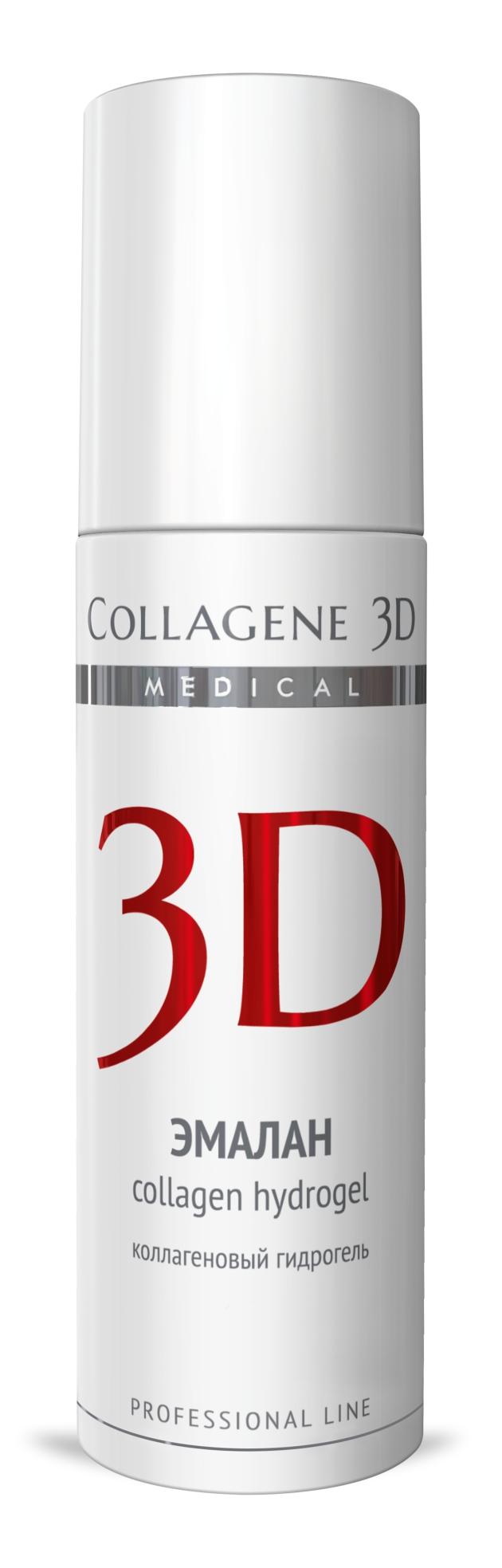 MEDICAL COLLAGENE 3D Гидрогель коллагеновый с аллантоином, димексидом Эмалан 130мл проф.Гели<br>Коллагеновый гидрогель, созданный для лечения любых патологий кожи и слизистых. Применяют - в период реабилитации после агрессивных и инвазивных косметических процедур, для лечения кожных заболеваний: угревой болезни, псориаза, демодекоза, а также для устранения последствий ожогов, ран, ссадин. Активные ингредиенты: нативный трехспиральный коллаген, эмоксипин, аллантоин, димексид. Способ применения: гель наносят локально на проблемные участки кожи тонким слоем, дают немного подсохнуть, процедуру желательно проводить несколько раз в день.<br><br>Объем: 130