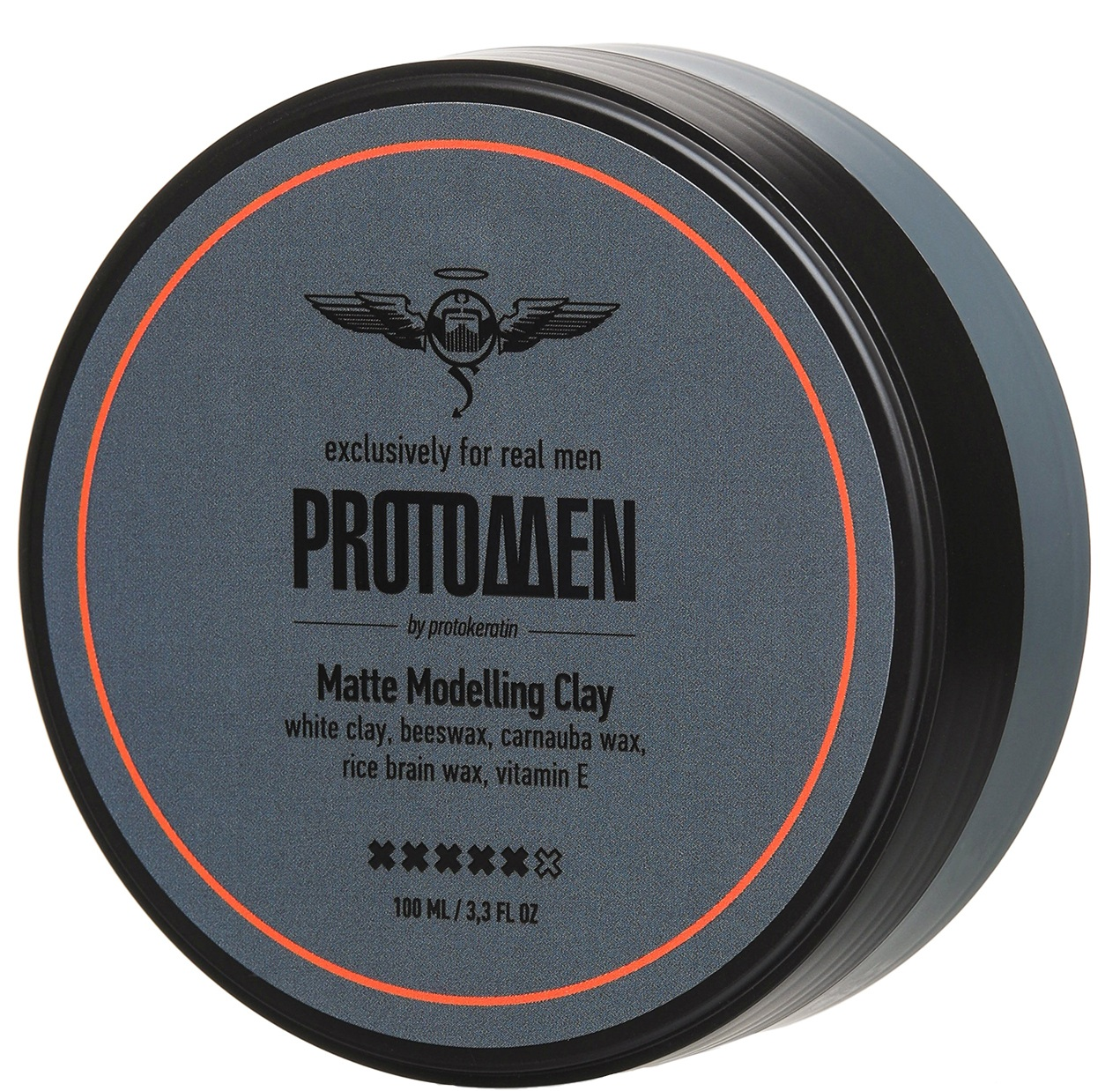 PROTOKERATIN Глина моделирующая матовая сильной фиксации, для мужчин / ProtoMEN 100 мл фото