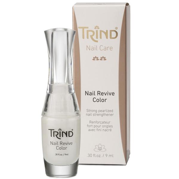 TRIND Укрепитель для ногтей белый перламутр, без формальдегида / Nail Revive Pure Pearl 9 мл
