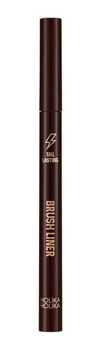 HOLIKA HOLIKA Подводка-фломастер Тэйл Ластинг, 02 темно-коричневая / Tail Lasting Brush Liner 02 dark brown 0,5 г