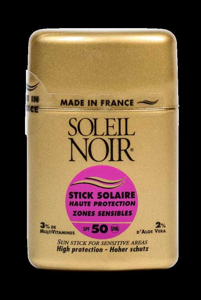 """SOLEIL NOIR Стик для чувствительных зон """"Высокая степень защиты"""" SPF50 / STICK SOLAIRE 10гр"""