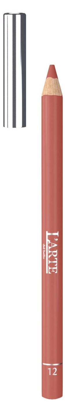 LARTE DEL BELLO Карандаш для губ, тон 12 / PROFESSIONALE 1,12 г - Карандаши