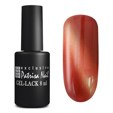 Купить PATRISA NAIL K16 гель-лак для ногтей Кошачий глаз, рубин 8 мл, Красные