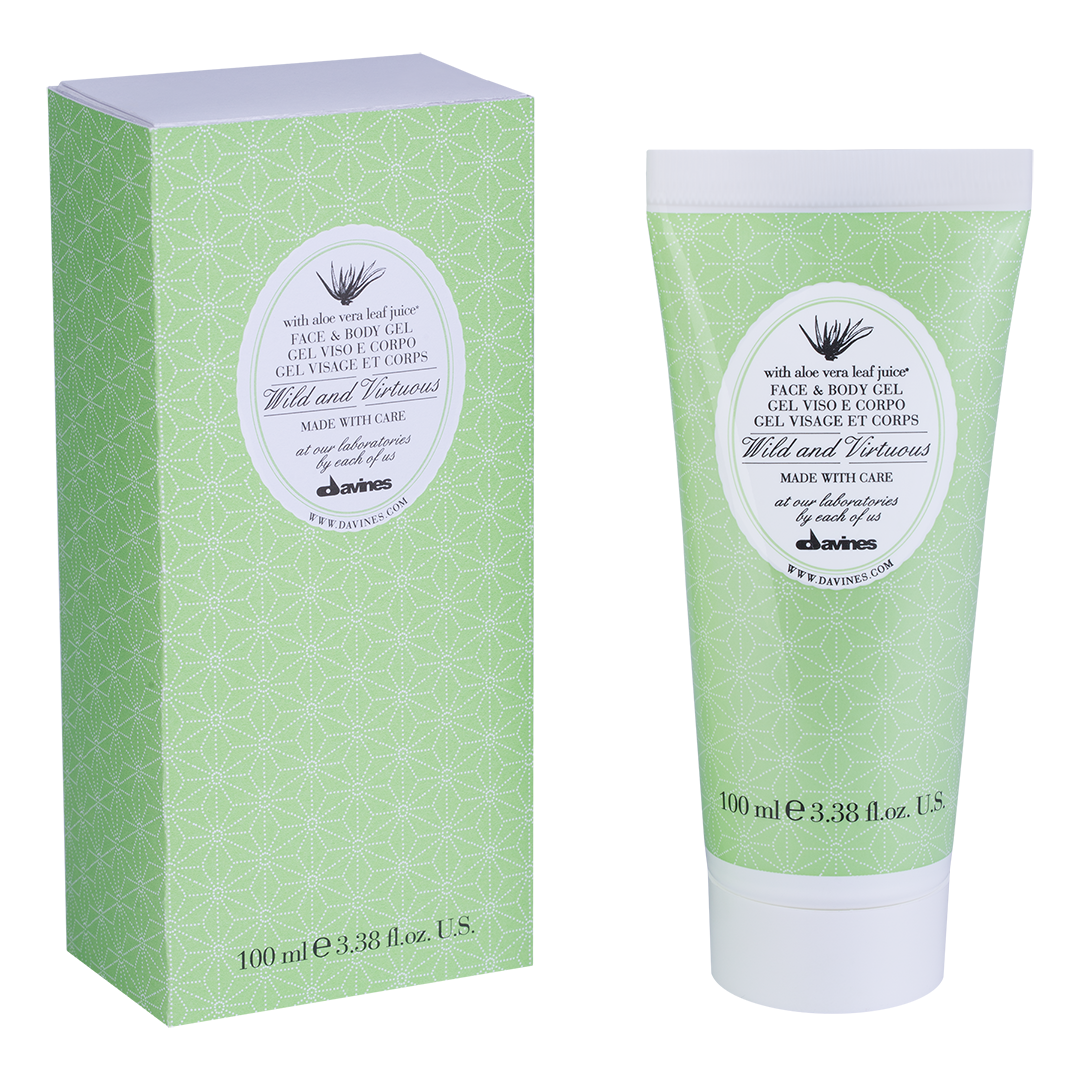 DAVINES SPA ���� ��� ���� � ���� � ���� ���� / Face & Body gel wild and virtuous 100��