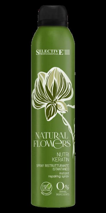 SELECTIVE PROFESSIONAL Спрей регенерирующий мгновенного действия / Nutri Кeratin Natural Flowers 150 мл