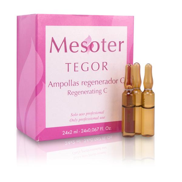 TEGOR Концентрат омолаживающий для кожи лица / Regenerating C - Regenerador C 24*2мл