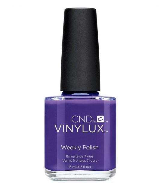 "CND 236 лак недельный для ногтей ""Video Violet"" / VINYLUX New Wave Collection 15мл"