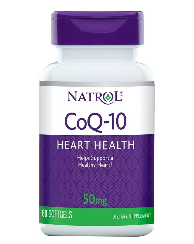 Купить NATROL Добавка биологически активная к пище Натрол коэнзим Q-10 / CoQ-10 50 мг 60 капсул